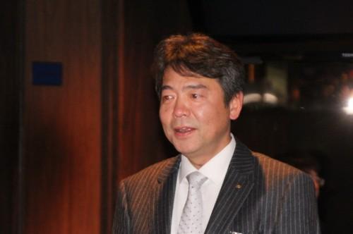 杉本会長のあいさつ